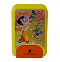 Chhota Bheem 1 Lock Red Lunch Box